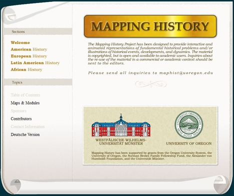 Mapping History | History and Social Studies Education | Scoop.it