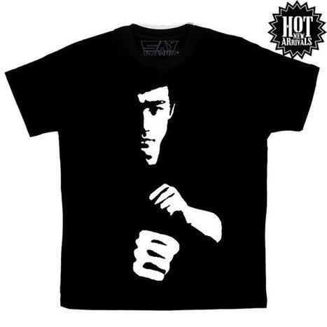 Bruce Lee Tee | t shirt printing | Scoop.it