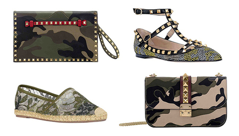 Valentino's Military-Inspired Capsule Collection: Camo You Want To Be Seen In   TAFT: Trends And Fashion Timeline   Scoop.it