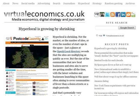 virtualeconomics   Top sites for journalists   Scoop.it