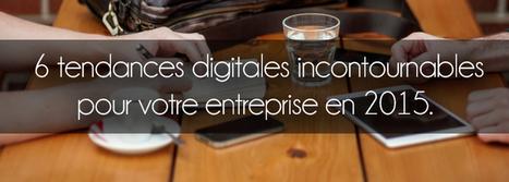 6 grandes tendances du marketing digital en 2015 pour votre entreprise | Réseaux Sociaux et pouvoir d'influence | Scoop.it