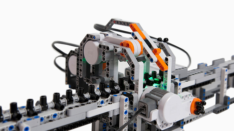 Lego Calculator Can Do Anything Your MacBook Can | STEM Education in K-12 | Scoop.it