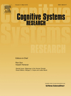 The Hottest Articles in Cognitive Systems Research | Global Brain | Scoop.it
