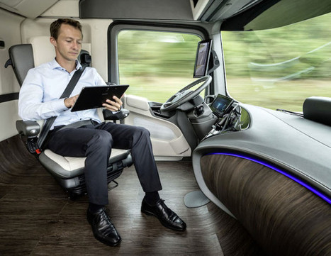 Mercedes Is Making a Self-Driving Semi to Change the Future of Shipping   WIRED   Mobilis - Véhicule communicant et automatisation   Scoop.it