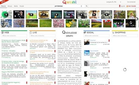 Qwant : nouveau moteur de recherche français pour contrer Google | Méli-mélo de Melodie68 | Scoop.it