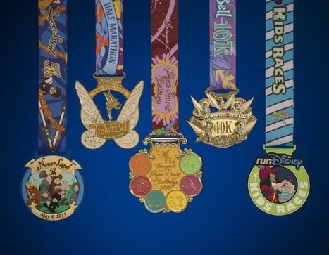 PANDORA has Designed the Finisher Medals for the Tinker Bell Half Marathon! | Travel | Scoop.it