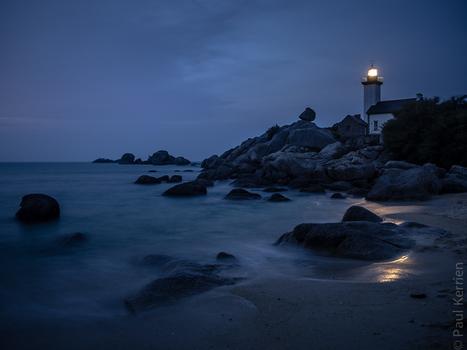 #Finistère, #Bretagne et...: soir à Brignogan à la pointe de Pontusval © Paul Kerrien http://toilapol.net | photo en Bretagne - Finistère | Scoop.it