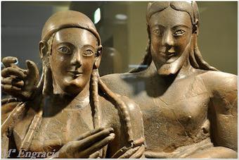 El Sarcófago de los Esposos, ejemplo de arte Etrusco ~ Arqueología en mi jardín | Mundo Clásico | Scoop.it