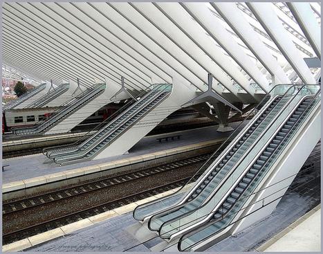 Guillemins train station, Liège | Flickr - Photo Sharing! | Ma vie est un long fleuve tranquille ... | Scoop.it