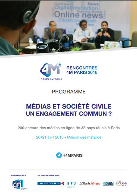 «Les réseaux sociaux favorisent l'implication de la société civile dans le débat public» | DocPresseESJ | Scoop.it