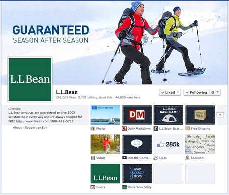 Case Study: L.L.Bean - The most-followed brand on Pinterest | Pinterest | Scoop.it