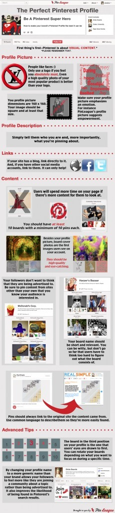 Perfect Pinterest Profile Check-List | Public Relations & Social Media Insight | Scoop.it