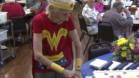 103-year-old celebrates her birthday by dressing up as Wonder Woman | Senior Care | Scoop.it