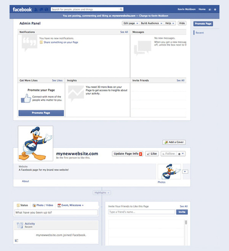 How to Create a Facebook Page for Your WordPress Website | Elegant Themes Blog | Vie Numerique | Scoop.it