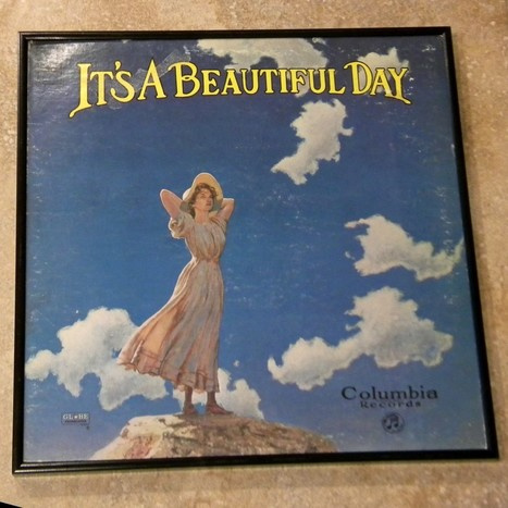 Framed Vintage Record Album Cover – It's a Beautiful Day   Album covers   Scoop.it