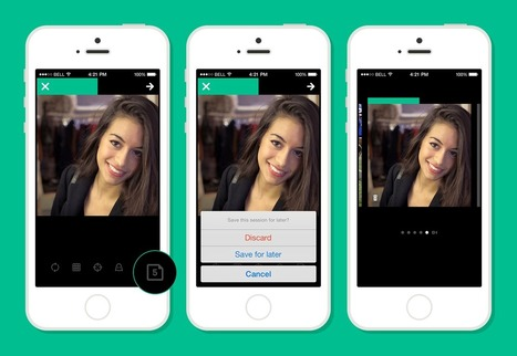 Vine for Android and iOS gets ability to edit videos and save multiple drafts | Social is Visual by Heaven | Scoop.it