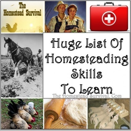 Huge List of Homesteading Skills to Learn | Permaculture University | Scoop.it