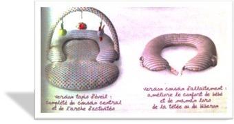 Nouveauté 2013 : le coussin 2 en 1 pour bébé et maman | Puériculture Bébé | Scoop.it