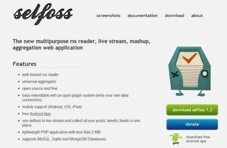 Selfoss – agregador de canales RSS de código abierto y flexible   Educación flexible y abierta   Scoop.it
