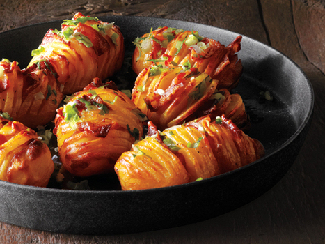 Bacon Hasselback Potatoes | Family Favorites | Scoop.it