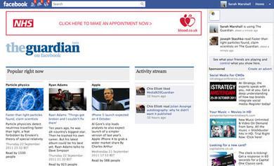 Guardian Facebook app 'shift' sees social readers directed back to news site   Multimedia Journalism   Scoop.it