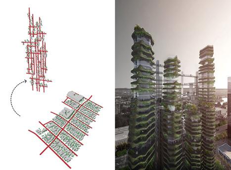 Un incroyable projet de 'village vertical' à Los Angeles | D'Dline 2020, vecteur du bâtiment durable | Scoop.it