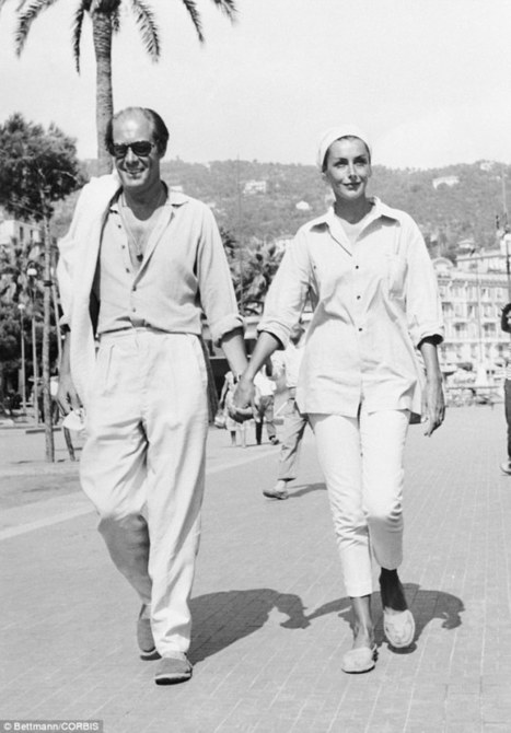 How to vacation like a Hollywood VIP: From Humphrey Bogart and Audrey Hepburn to Clark Gable and Grace Kelly, stunning photos show silver screen idols relaxing | Retro Life | Scoop.it