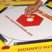 Math Carrom -- Teaching Mathematics through Games | The Inquiring Librarian | Scoop.it