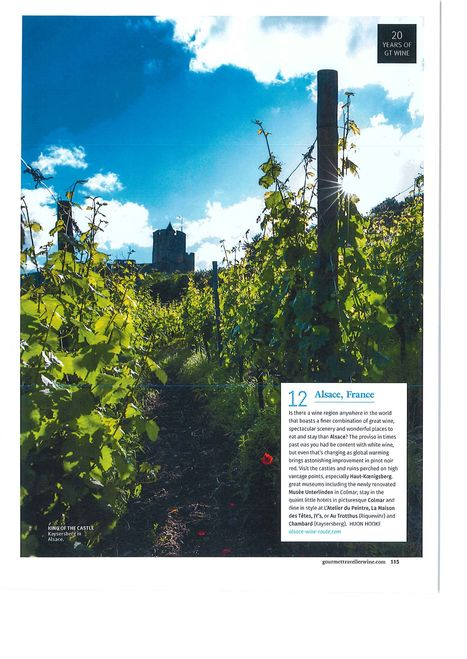 Top Wine Experiences Overseas   Colmar et ses manifestations   Scoop.it
