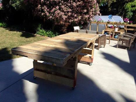 Outdoor Patio Table | Permaculture, Homesteading & Green Technology | Scoop.it
