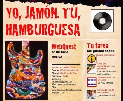 WEBQUEST: Yo, jamón. Tú, hamburguesa por Antonio J. Calvillo | PROMVIENDO EL USO DE LAS TICS | Scoop.it