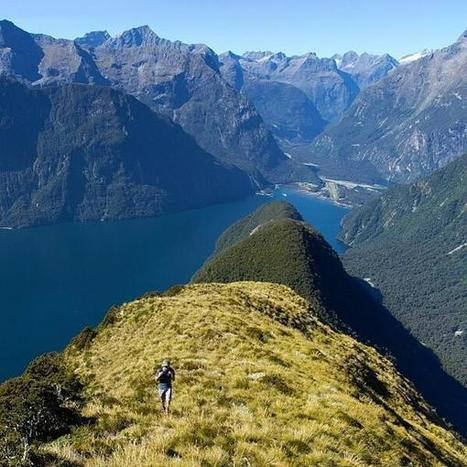 View from Mitre Peak, Fiordland National Park | Trekking | Scoop.it