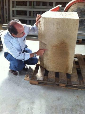 Un nuevo pedestal hallado en la ciudad romana de Los Bañales aporta más datos sobre el homenaje a Tiberio | LVDVS CHIRONIS 3.0 | Scoop.it