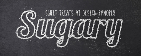 Sweet Sugar Text Effect in Photoshop | Inspired By Design | Scoop.it