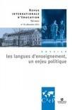 Présentation du n°70 de la revue du CIEP : Les langues d'enseignement, un enjeu politique - Les Cahiers pédagogiques | Actualités du site du CRAP-Cahiers pédagogiques | Scoop.it