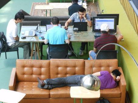 La sieste au travail fait son chemin | Recrutement et RH 2.0 l'Information | Scoop.it