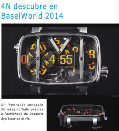 4N Descubre  en BaselWorld 2014 | FashionLab | Scoop.it