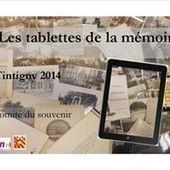 Les tablettes de la mémoire - 2014-18           La page Facebook | Rossignol 1914-1918 | Scoop.it
