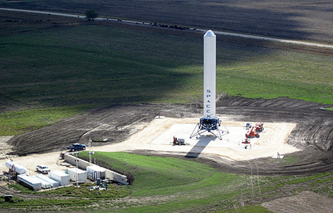 SpaceX Tests Grasshopper Rocket in Two-Story Hop | SpaceRef | The NewSpace Daily | Scoop.it