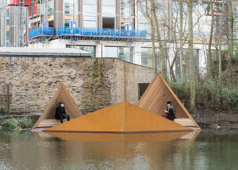 AOR's floating platform, Viewpoint, offers glimpses of London canal-side wildlife | city greening | Scoop.it