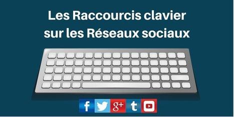 ▶ Les Raccourcis Clavier sur les Réseaux Sociaux : La Liste | Going social | Scoop.it
