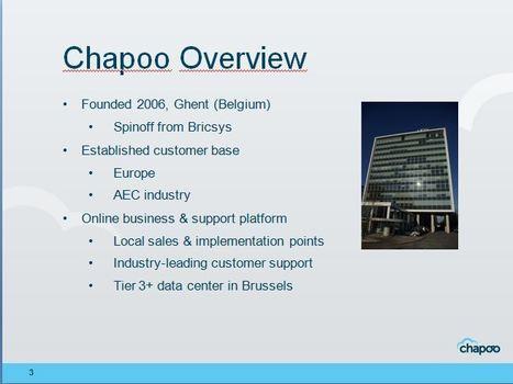 Persbericht: BricsCAD biedt toegang tot de Cloud-gebaseerde Chapoo Collaboration Service | Online samenwerken en leren 2.0 | Scoop.it