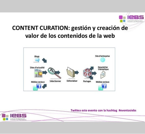 Content Curation: gestión y creación de valor de los contenidos web #socialmedia | Seo, Social Media Marketing | Scoop.it