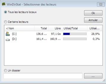 Trouvez les fichiers qui consomment le plus votre espace disque à l'aide de WindirStat | CARTOGRAPHIES | Scoop.it