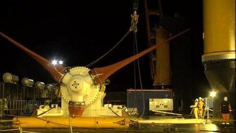 Tidal turbine 'performing well' | In Deep Water | Scoop.it