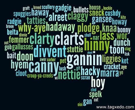 A snapshot of the Geordie language « Newcastle Libraries | The Geordie Perspective | Scoop.it