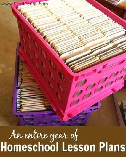 An Entire Year of Homeschool Lesson Plans - Meet Penny | APH - HomeSchool Articles | Scoop.it