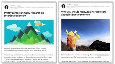 How to Turn Research Into 27+ Content Pieces [Case Study] | MarketingHits | Scoop.it