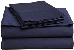 400 Thread Count Egyptian Cotton Split King Navy Blue Solid Sheet Set | Egyptian Linens Outlet | Scoop.it