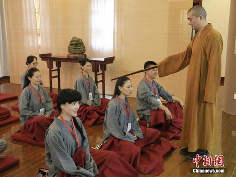 Des cours de méditation à Shanghai pour réduire le stress - Quotidien du Peuple | La pleine Conscience | Scoop.it